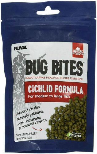 Buy Fluval Bug Bites Cichlid Formula Online
