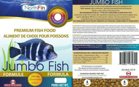 NorthFin Jumbo Fish Food