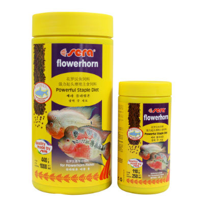 Buy SERA Flowerhorn food